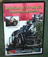 "20219 TRAIN VIDEO DVD ""TENNESSEE STEAM EXCURSIONS 70's & 80's #4501/#611"