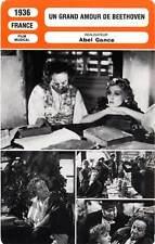 FICHE CINEMA : UN GRAND AMOUR DE BEETHOVEN - Baur,Ducaux,Gance1936 Life and Love