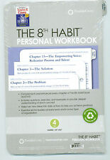 "Franklin Covey Refill Pack The 8th Habit Personal Workbook Size 4 5.5"" x 8.5"""
