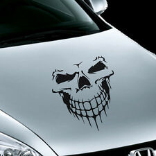 Reflective Skull Decal Vinyl Car Stickers Auto Hood Cover Scratch Exterior Stick