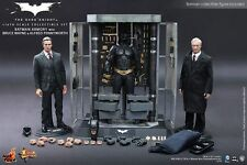 Hot Toys Batman Armory with Bruce Wayne & Alfred-TDK MMS236 **UK**
