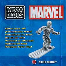 SILVER SURFER mega bloks NEW series 3 marvel minifigure RARE blind pack VHTF