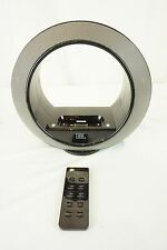 JBL Radial Micro 700-00620 iPhone iPod Dock Speaker Bundle AC Adapter W/ Remote