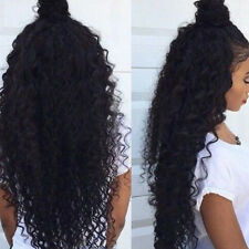 Africa Wave Curly Wigs For Women Glueless Lace Front Wig With Baby Hair 20''
