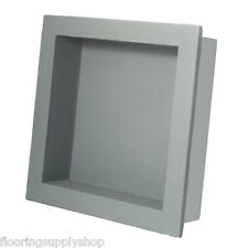 Preformed Ready to Tile Square Niche Waterproof 14 x 14 Made in the USA (Flange)