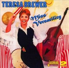 Miss Versatility by Teresa Brewer (CD, Aug-2011, 2 Discs, Jasmine Records)