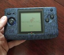 NeoGeo Pocket Color Stone Blue Handheld System Console Only GOOD!