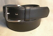Non-Branded Mens Black Genuine Leather Money Belt Size 38