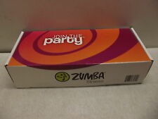 ZUMBA FITNESS JOIN THE PARTY TOTAL BODY TRANSFORMATION DVD & TONING STICKS NIOB