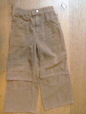 Designer Oilily Tan Brown Corduroy Jeans Elasticated Trousers 6 yrs 116 cm
