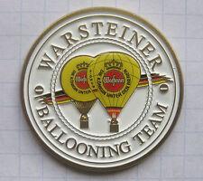 WARSTEINER BALLON  / BALLOONING TEAM  .......... Bier-Ballon-Pin (103a)
