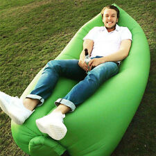 Air Bed Camping Hiking Travel Beach Lazy Sleeping Bags Hangout Inflatable Sofa