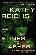 Reichs, Kathy  BONES TO ASHES Signed US HCDJ 1st/1st NF