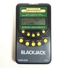 Electronic Handheld Black Jack Blackjack Game+Plus Pocket Casino Card Gaming