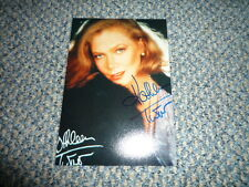 KATHLEEN TURNER  signed Autogramm In Person 10x15 cm DER ROSENKRIEG Rar !!