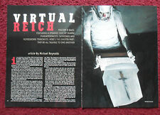 2002 Magazine Article 'Virtual Reich' by Michael Reynolds w/ Phil Hale ART