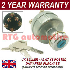 IGNITION STARTER SWITCH FOR PEL JOB DIGGER EXCAVATOR + WIRING INSTRUCTIONS