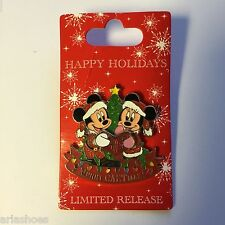 Cast Member - Merry CASTmas! Mickey and Minnie LE 1250 Disney Pin 81442