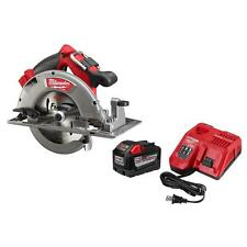 NEW MILWAUKEE 48-59-1890PC M18 CORDLESS CIRCULAR SAW 9.0 HIGH DEMAND STARTER KIT