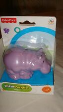*NEW* RETIRED Fisher Price Little People Animal Sounds Zoo  Hippo Sealed