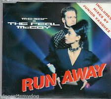 M C SAR & THE REAL McCOY - RUN AWAY (7 track CD single)