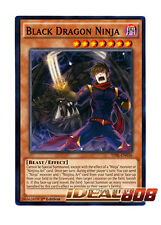 YUGIOH x 3 Black Dragon Ninja - TDIL-EN036 - Common - 1st Edition Near Mint