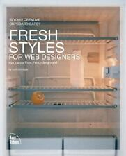 Fresh Styles for Web Designers: Eye Candy from the Underground by Cloninger, Cur