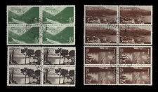RUSSIA. Crimean Resorts. 1938 Scott 666-669. Blocks of 4. Used.