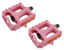 """BICYCLE 9/16"""" PEDALS PINK CRUISER LOWRIDER BMX MTB ROAD FIXIE TRACK CYCLING"""
