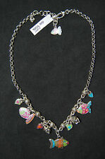 New, cute, BRIGHTON 'Sea Love' TROPICAL FISH necklace !  FREE SHIPPING !!