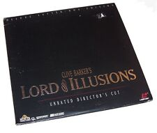 Vintage 1995 Clive Barker's Lord of Illusions Laserdisc Unrated Director's Cut