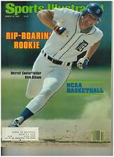 March 24 1980 issue of Sports Illustrated Tiger's Rookie Kirk Gibson Cover