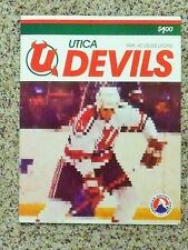 1991-92 Utica Devils (AHL) [New JerseyDevils] Update player cover team program