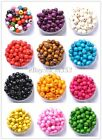 Mixed Color Round Wood Beads Wooden Beads - 6MM, 8MM, 10MM, 12MM&14MM