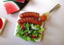 *1 miniature dolls house food puppenstube maison de poupée Dolls house fimo^*