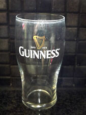 GUINNESS BREWED IN DUBLIN PINT BEER GLASS