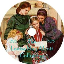 Louisa May Alcott Audiobook Collection Unabridged Fiction English on 1 MP3 DVD