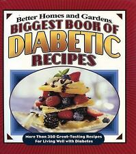 Better Homes and Gardens Cooking: Biggest Book of Diabetic Rec (FREE 2DAY SHIP)