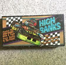 HIGH BANKS - The Speedway Trivia Game Vintage 1993 Board Game Racing NEW Sealed