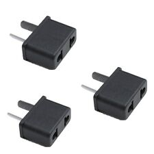 3pcs US/EU To AU Australia Reise Ladegerät Power Adapter Konverter Wall Stecker