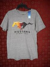 """Gray FORD Mustang 1964 TShirt Sz M 38"""" Chest Official License Product NWT #171"""