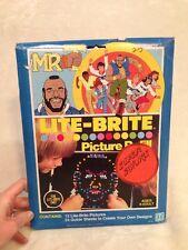 Vintage Hasbro 1984 MR. T Kids LITE-BRITE Picture Refill !