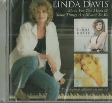 Linda Davis - Shoot For The Moon & Some Things Are Meant To Be (CD 2014) NEW