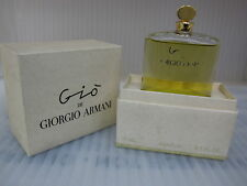 GIO DE GIORGIO ARMANI 0.5 oz / 15 ML Pure Perfume,Parfum New In Box,As Pictured