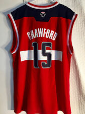Adidas NBA Jersey Washington Wizards Jordan Crawford Red sz M