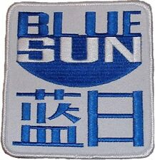Firefly / Serenity Movie BLUE SUN Logo PATCH 3 1/2 INCHES SQUARE