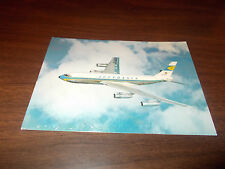 1960s Lufthansa Boeing 720B Jet Advertising Postcard