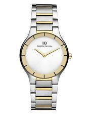 Danish Design IQ65Q949 Two Tone Stainless Steel Quartz Classic Men's Watch