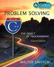 Problem Solving with C++: The Object of Programming, CodeMate Enhanced Edition (