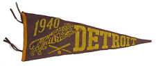 1940 Detroit Tigers Pennant - American League Champions